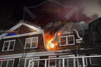 Roslyn Fire Companies  Signal 10  Dogwood Ave. 3/18/20