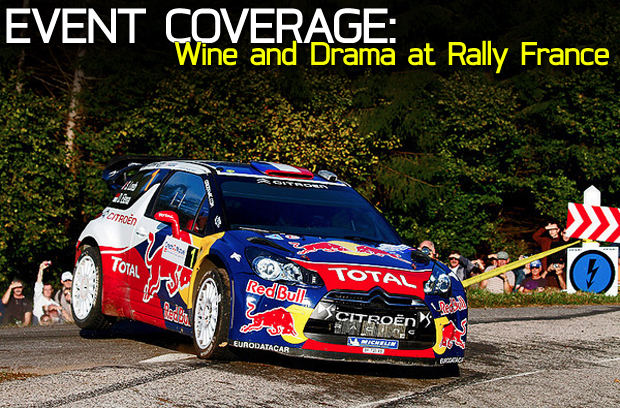 Wine and Drama at Rally France