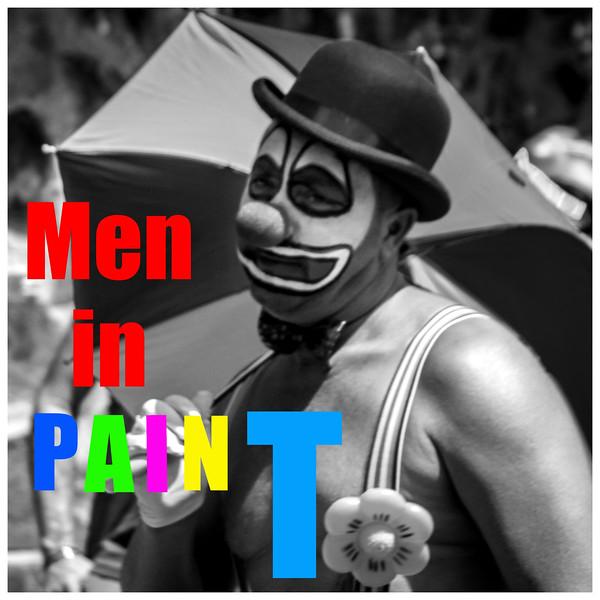 Men in Paint
