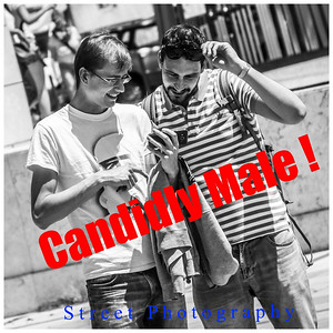 Candidly Male Street Photography