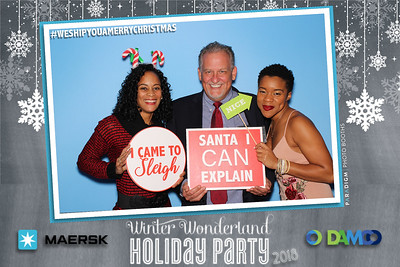 December 14, 2018 - Maersk/Damco Holiday Party 2108