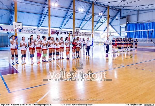 Lazio - Liguria [F] #TDRVolley2016