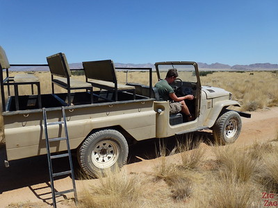 Car breakdown Namib Carnivore Conservation centre