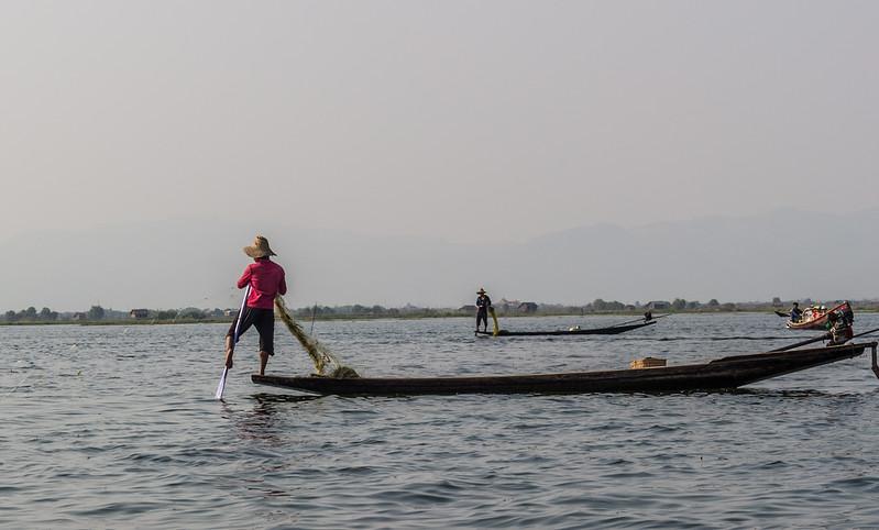 Leg rowing