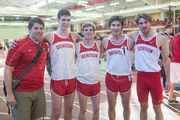 Denison Bob Shannon Indoor Track Invite 2016
