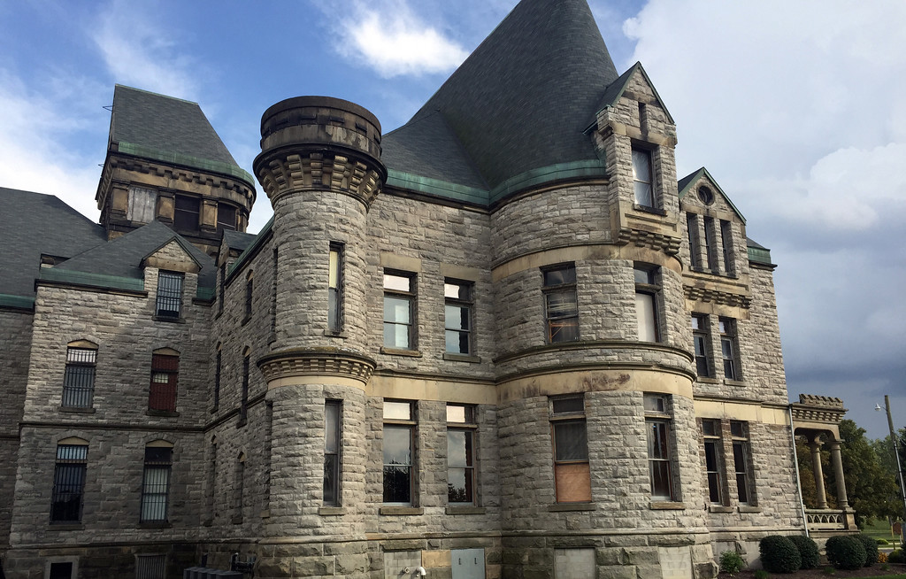 . The Ohio State Reformatory in Mansfield, which dates to 1834, is well-known as the �Shawshank Prison� in the film �The Shawshank Redemption.� The movie will be shown at 7:30 p.m. Aug. 10 at Playhouse Square as part of the 21st annual Cinema at the Square series. For more information, visit playhousesquare.org/events/detail/21st-annual-cinema-at-the-square-shawshank-redemption.  (Mark Meszoros -- The News-Herald)