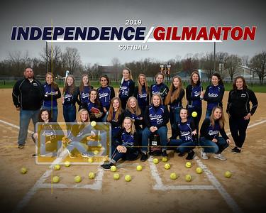 Independence/Gilmanton softball SB19