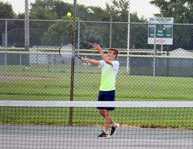 HS Sports - Wyandotte Roosevelt at Allen Park Boys' Tennis 19