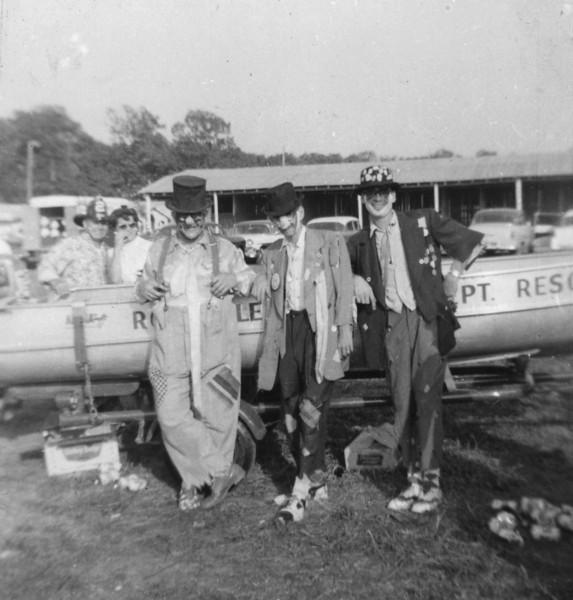 Gene Herbert and clowns Taken at Gaithersburg Labor Day
