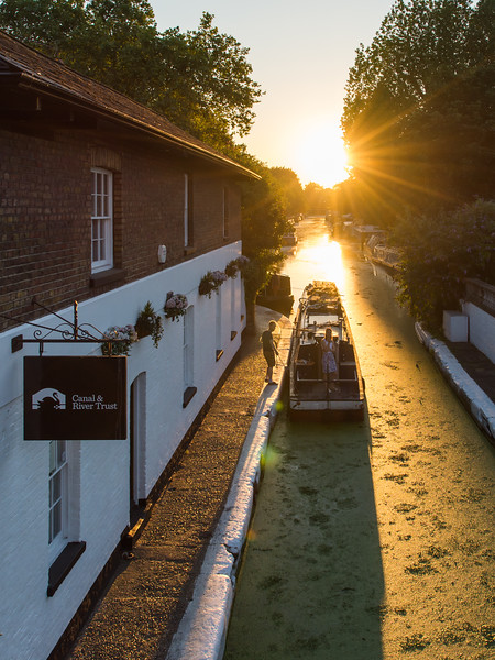 Grand Union Canal sunset