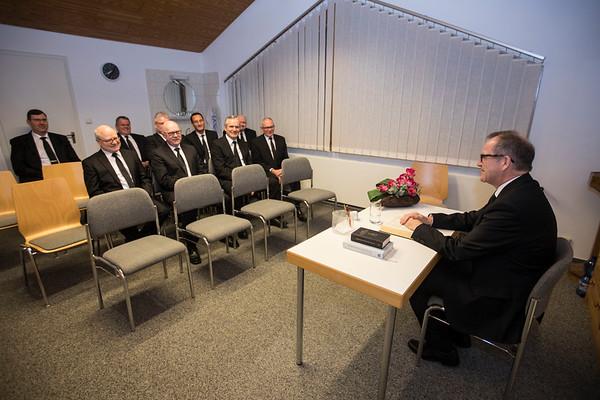 Gottesdienst mit Apostel Opdenplatz in Neu-Isenburg 14.03.18