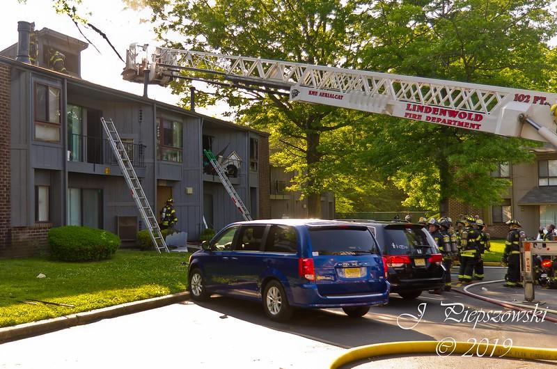 5-25-2019 - (Camden County) - LINDENWOLD - 1800 Laurel Rd., 628 Stonington Court Apts. - 2nd Alarm Apartment