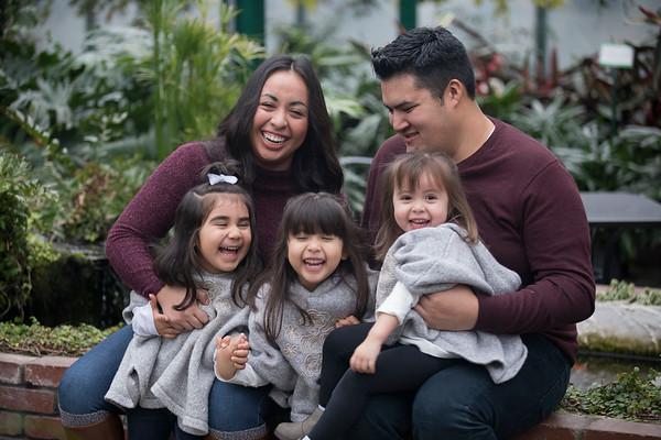 Juarez-Cruz Family Christmas Minis 2017