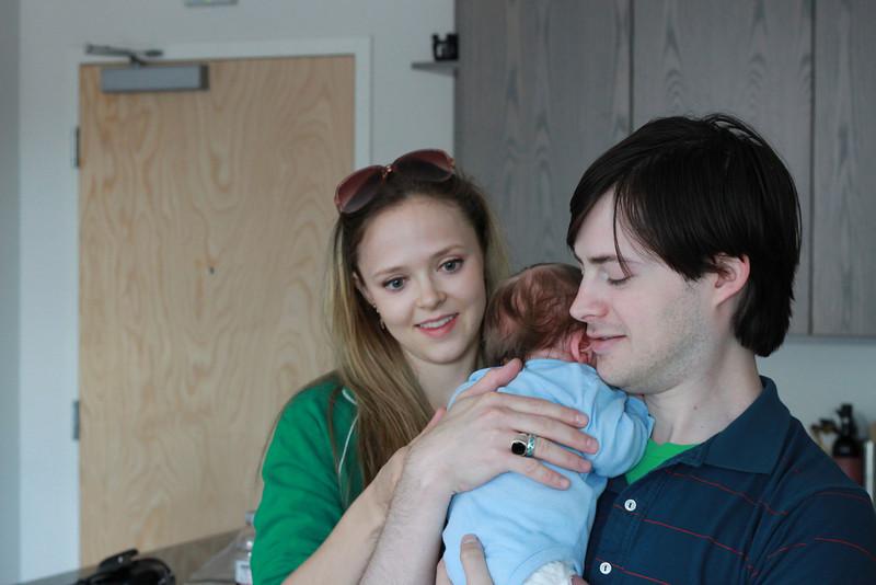 Meeting Uncle Aaron and Marika.