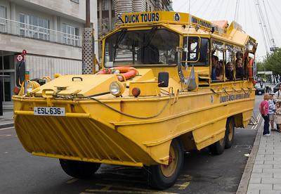 London Duck Bus Tour - 2 July 2008