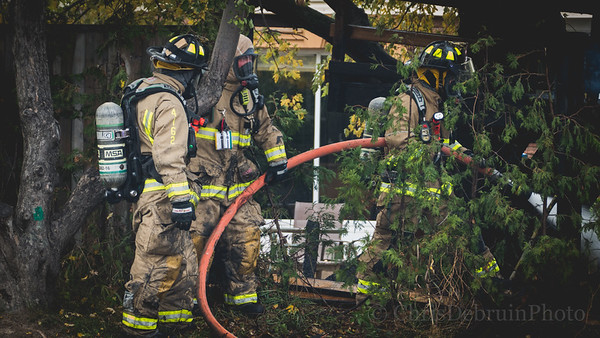 Newmarket, ON. October 25, 2020 - Working Fire - 235 Currey Cr.