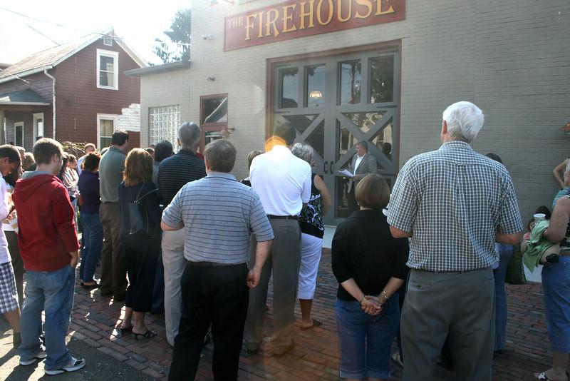 Firehouse Dedication