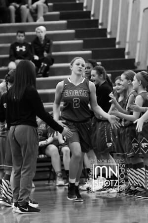 2017 Girls Varsity Basketball vs Burnsville