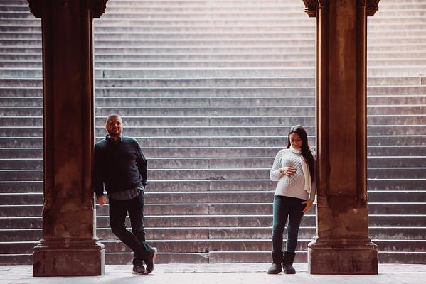Carlos & Yasmin - Engagement - Central Park, NYC
