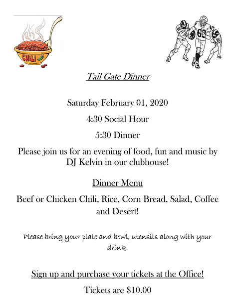 Microsoft Word - Tail Gate Dinner flyer