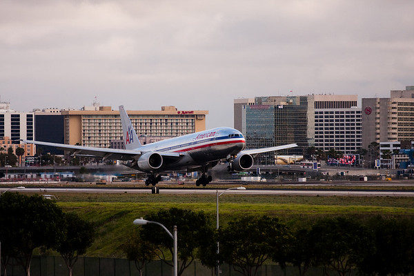 Stormy day at LAX with a new lens