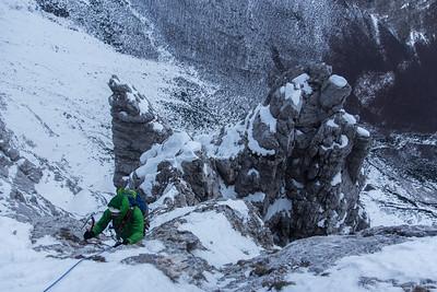 01 06 Short German Route in Triglav North Face