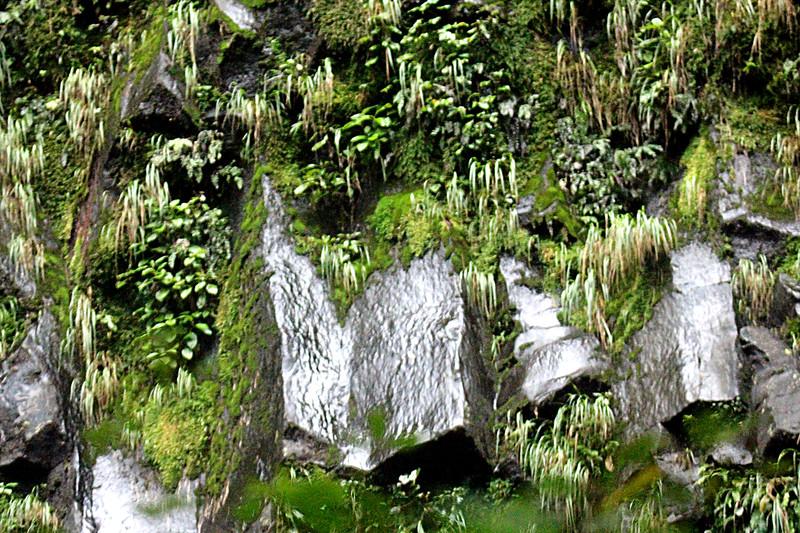 Volcanic Rock at  La Fortuna Waterfall