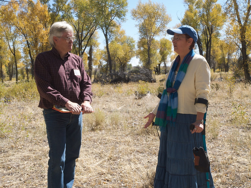 Clint Gilchrist, Sublette County Historical Society, and Lesley Wischmann, Alliance for Historic Wyoming.