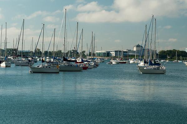 Sailing Chicago 09092012