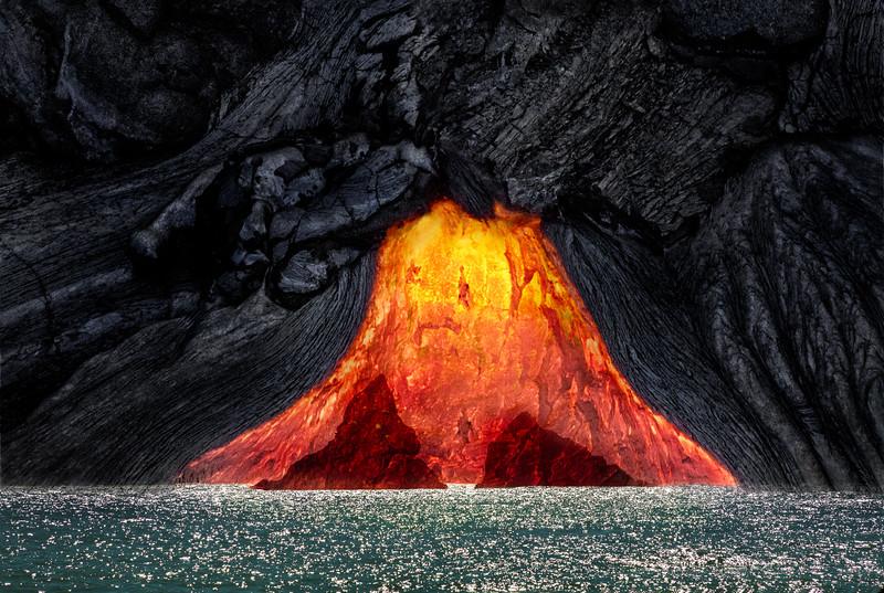 Lava Sea