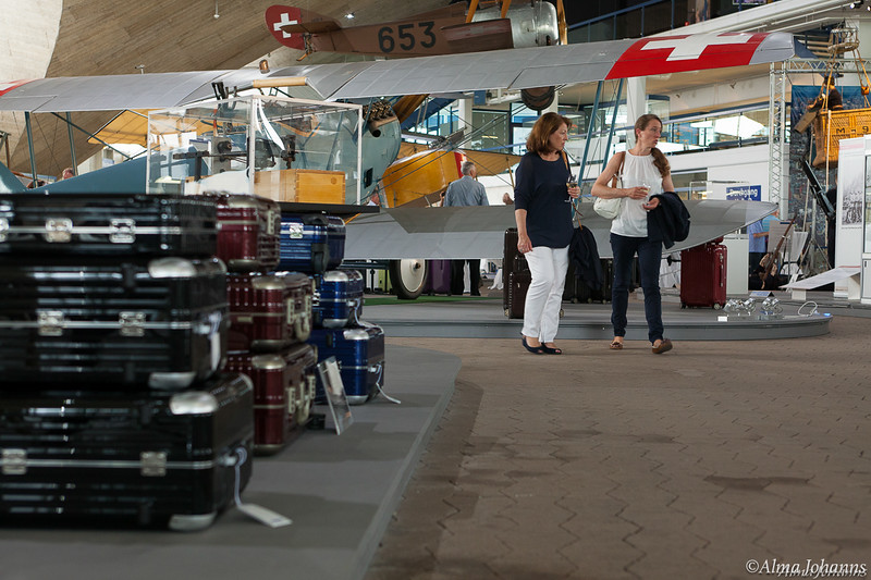 Lederlocher - Rimowa Event at Flieger Flab Museum Dübendorf, Switzerland