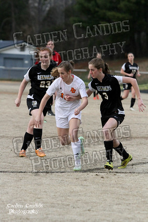 DHS VARSITY Ladies Soccer vs Reynolds 3-18-15