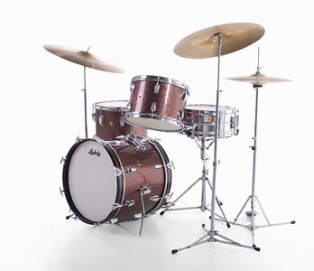 Ludwig Burgundy Sparkle Jazzette