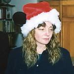 year? Linda Santa Mickey ears