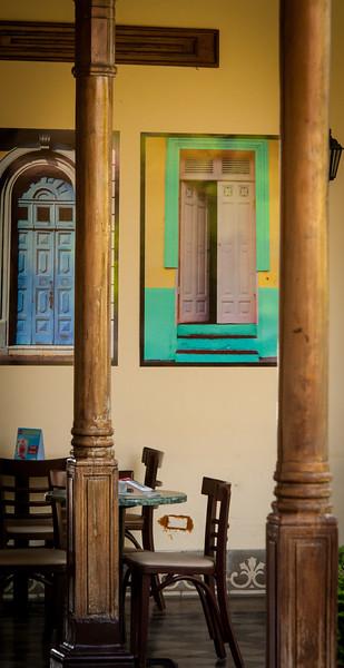Local coffee shop, Parque Central