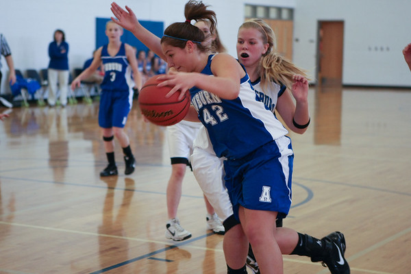 Auburn Girls BBall - Austin Cloyd 12-27-2010