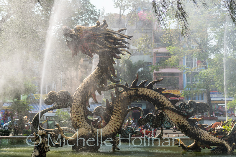 Dragon Fountain, Ho Chi Minh City, Vietnam