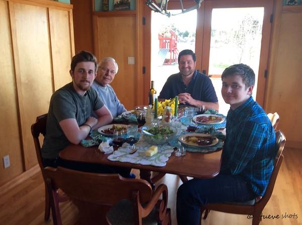 Easter,  Birthday and Jonathan Visits 2016