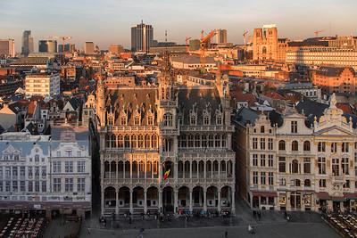Rooftop hotel de ville de Bruxelles