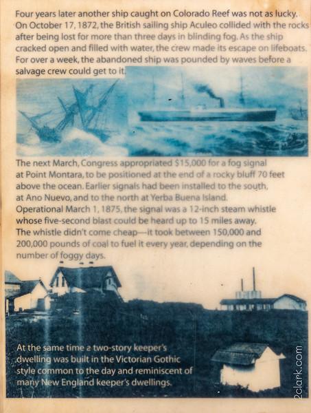 Montara Lighthouse History - Panel 2