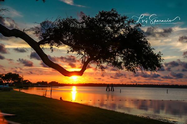 Sunsets from the Alabama Gulf Coast