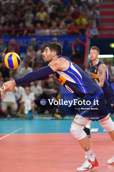 ITALIA vs SERBIA, 2019 FIVB Intercontinental Olympic Qualification Tournament - Men's Pool C IT, 11 agosto 2019. Foto: Michele Benda per VolleyFoto.it [riferimento file: 2019-08-11/ND5_7460]