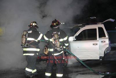 Saugus, MA - Auto Fire, 920 Broadway, 3-7-14