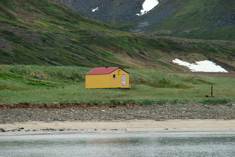 Aðalvík - Látrar. Neyðarskýlið. 2012.