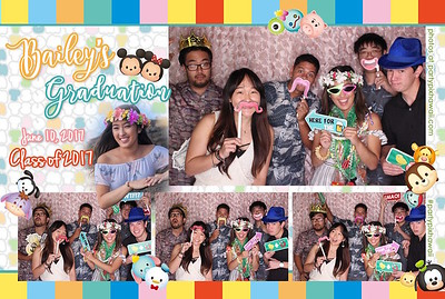 Bailey's Graduation (LED Open Air Photo Booth)