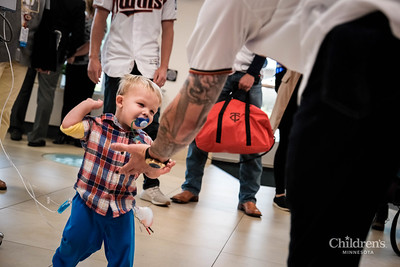 The Minnesota Twins visit