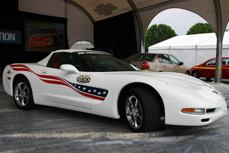 """Chevrolet Corvette, """"Pace-Car"""" for the 2004 Indianapolis 500."""