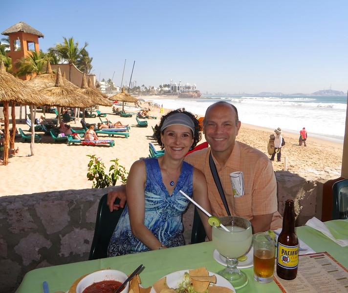 Lunch in the Zona Dorada (Golden Zone) - Mazatlan, Mexico
