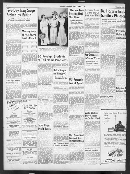 Daily Trojan, Vol. 32, No. 137, May 08, 1941