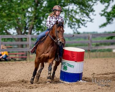 11. Barrels Horse, Jr. Rider